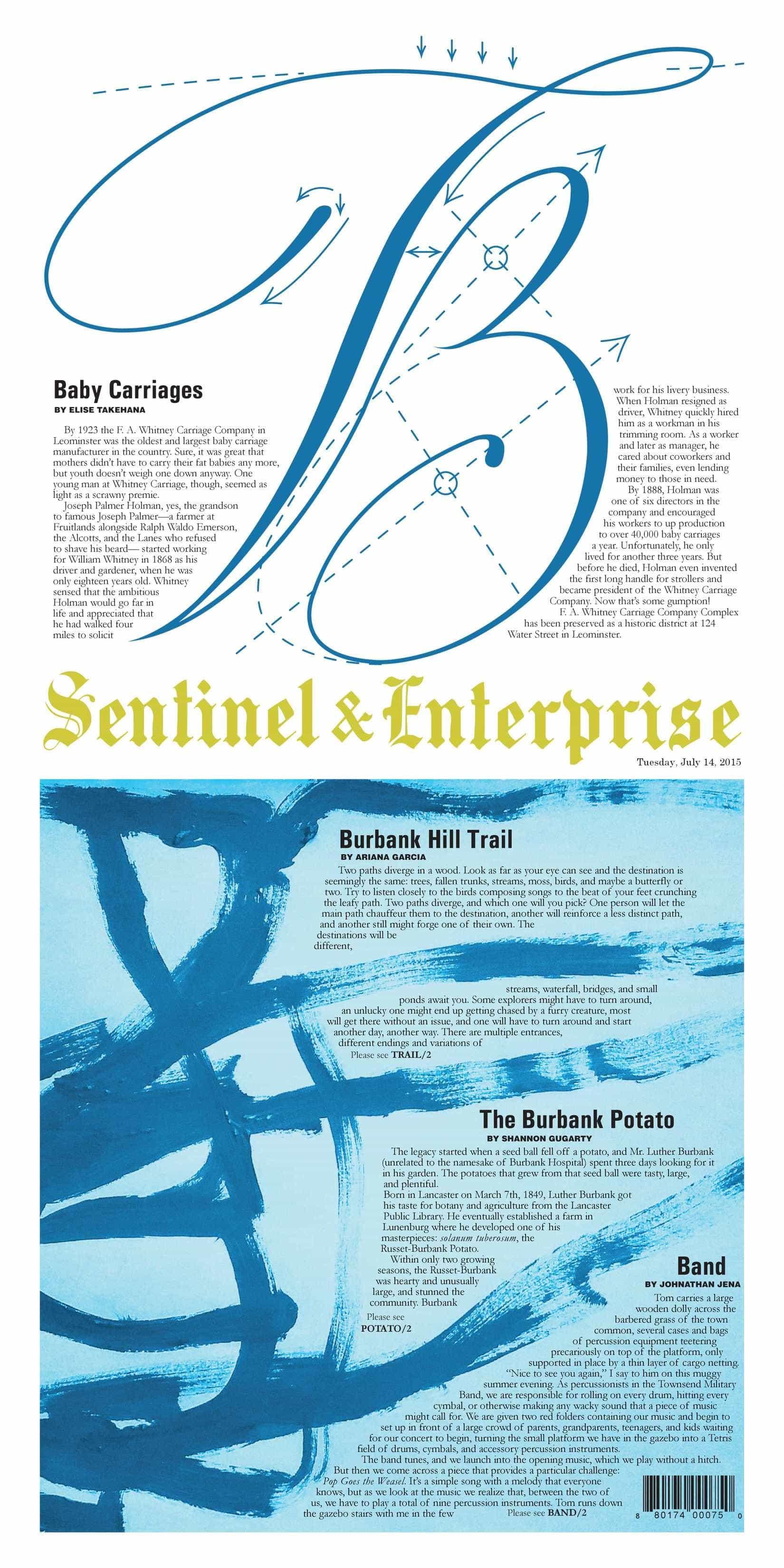 Photo courtesy of Sentinel & Enterprise