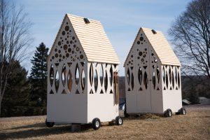 Selin + Selin Architecture's twin shanties
