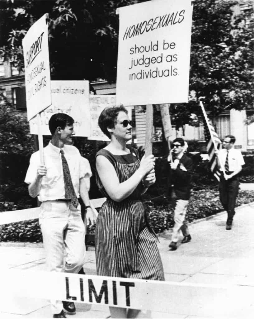 Still from Before Stonewall, 1984, Directed by Greta Schiller and Robert Rosenberg