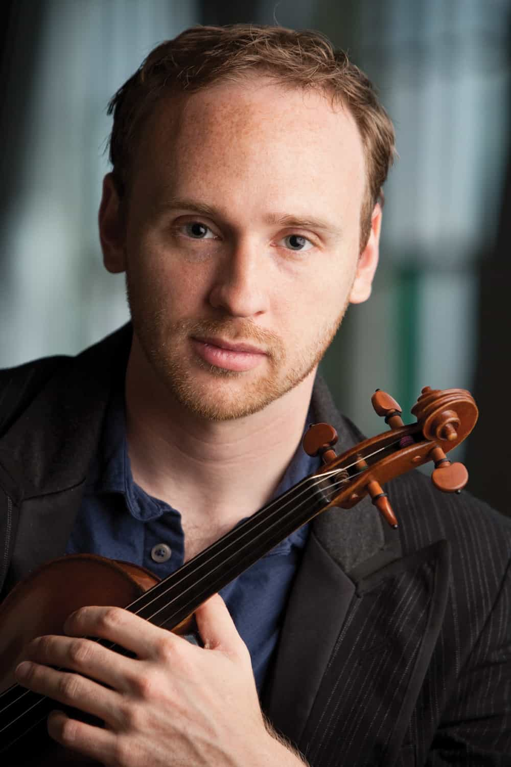 Violinist Charles Dimmick   Photo courtesy of New Hampshire Music Festival