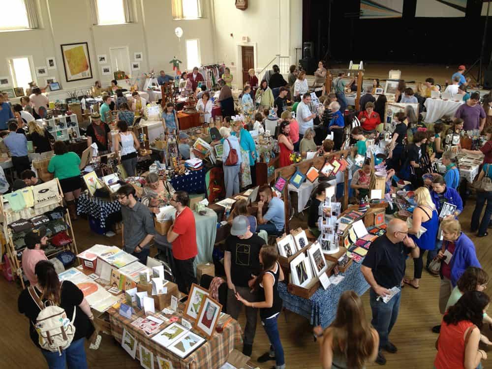 Broke: the Affordable Art Fair | Photo by Elisabeth Fuchsia
