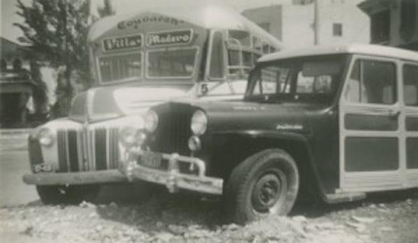 Enrique Metinides Choque de Camion y Camionetta 1950