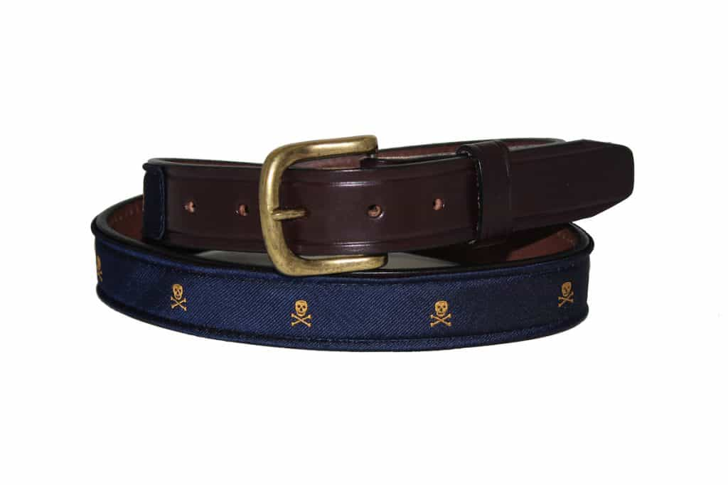 Skull and Crossbones Belt | $75.00 | For the corsair in all of us.