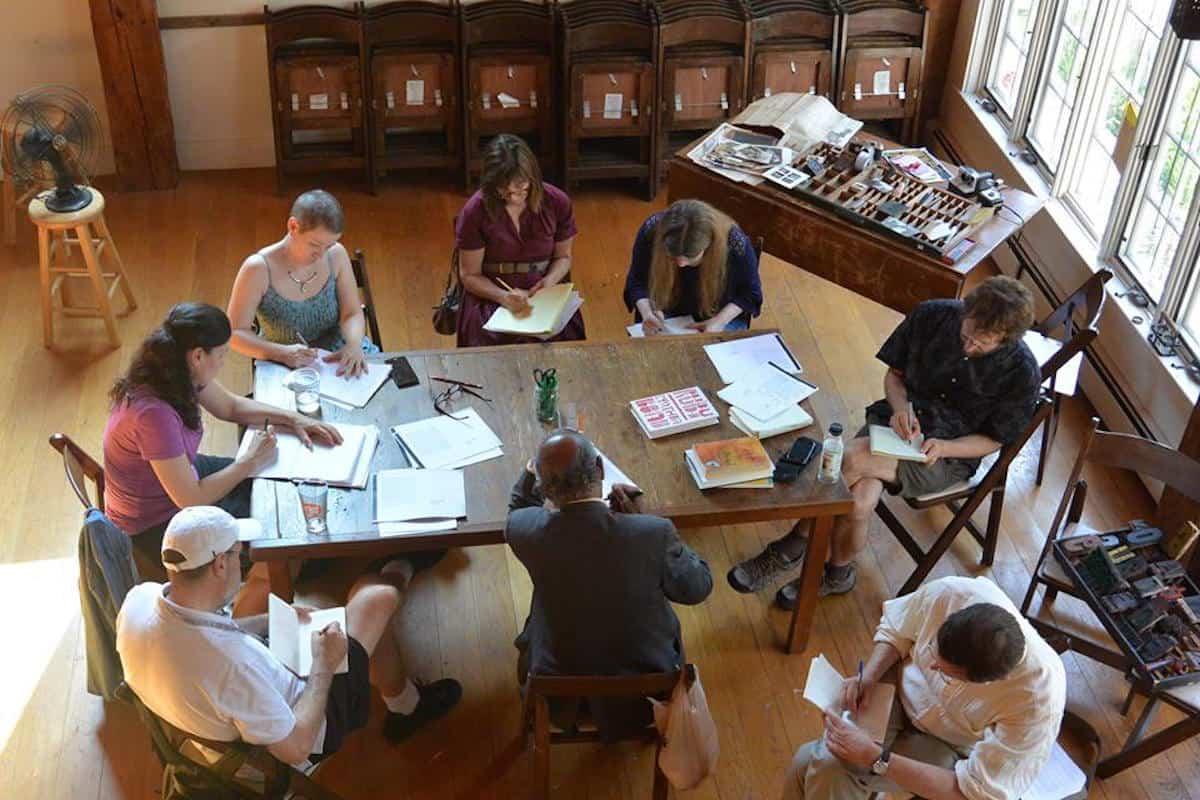 Tim Horvath workshop | Image by Sarah Anderson