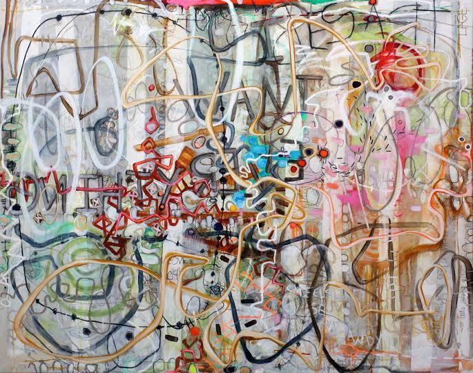 "Janet Lage ""Stubborn Love"" 60 x 76"