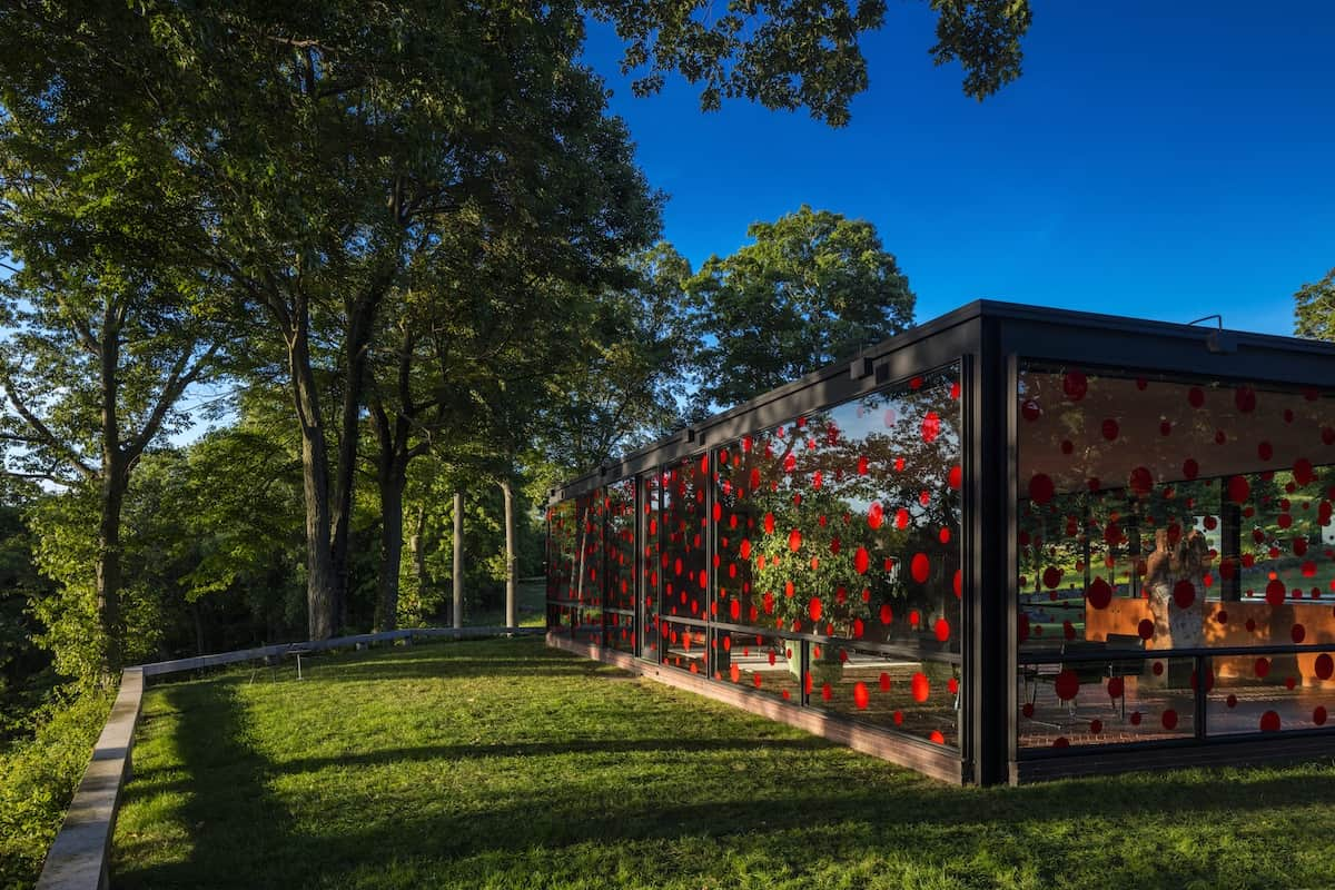 Glass House – Yayoi Kusama