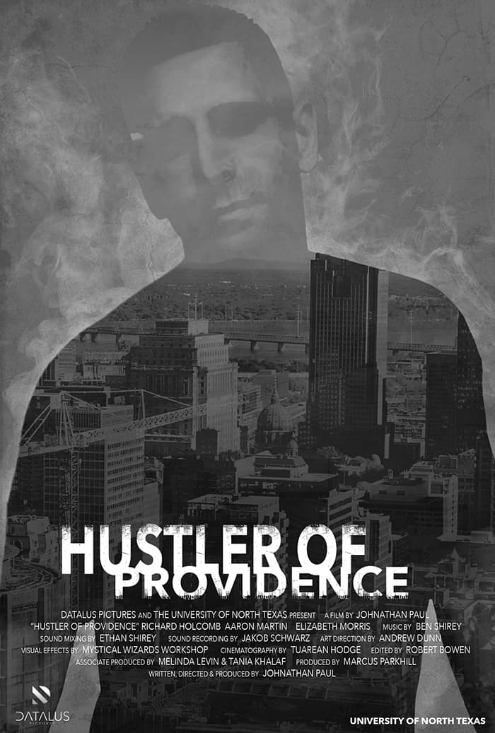 Hustler of Providence movie poster | Photo courtesy New England Film website