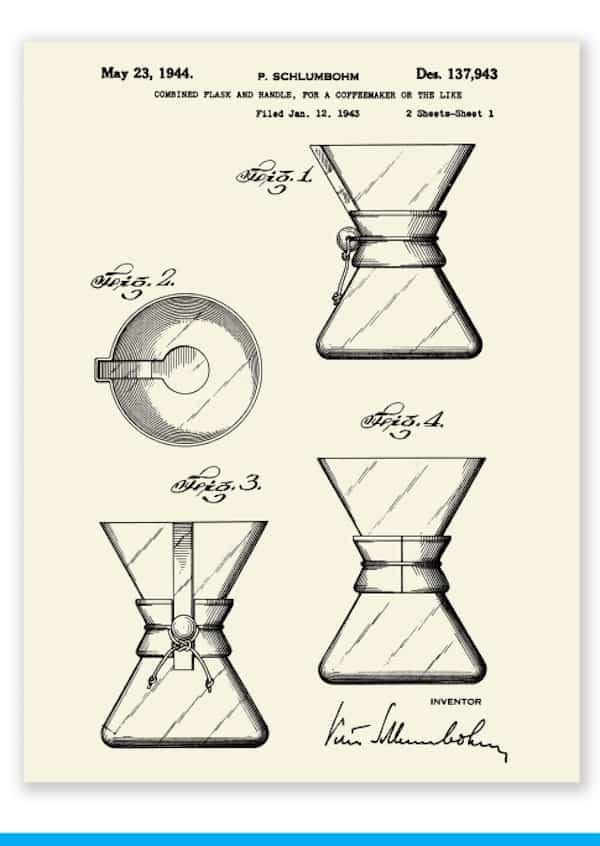 Patent image courtesy of Chemex Corp.