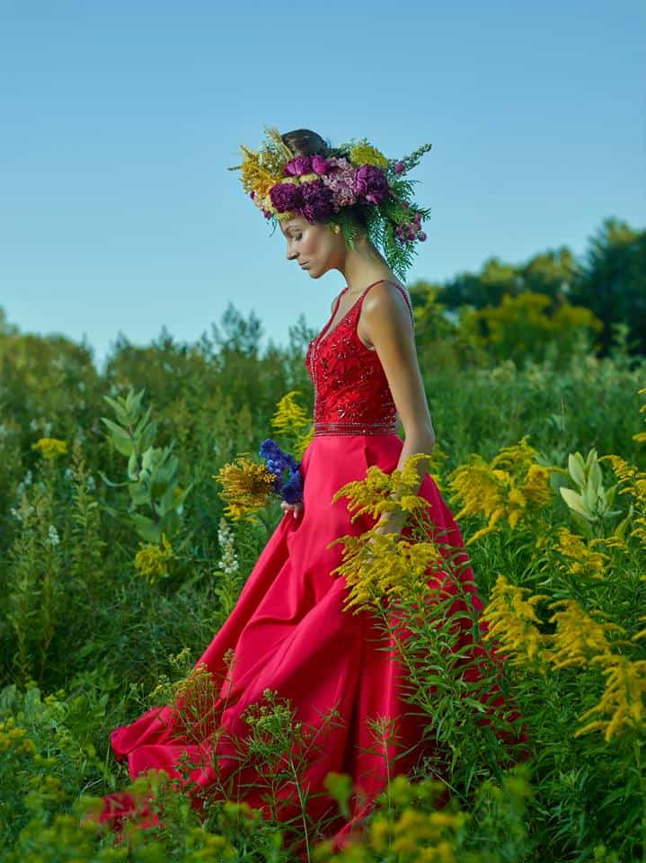 """Flower Crown #1"" 