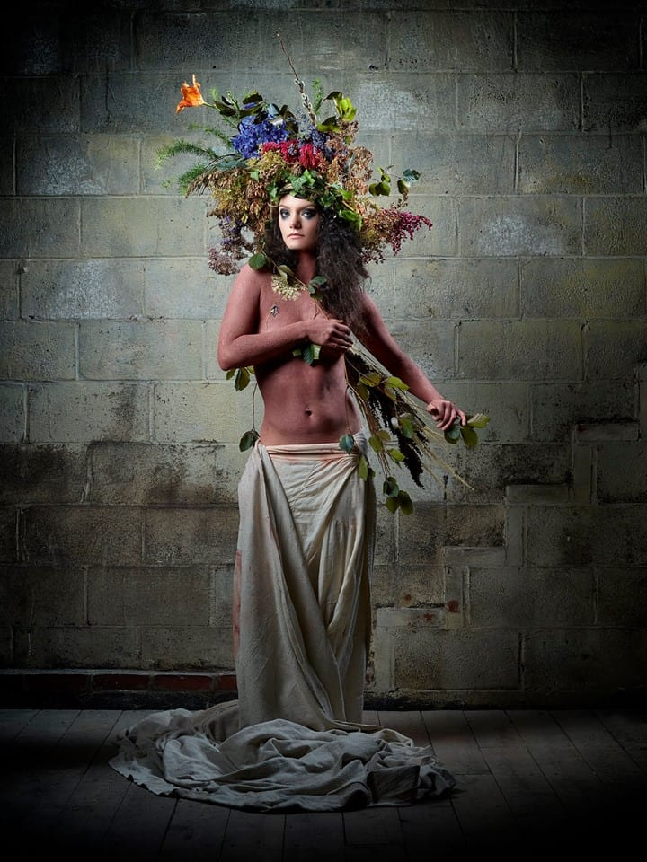"""Flower Crown #3"" Image courtesy of Michael Winters Photography"