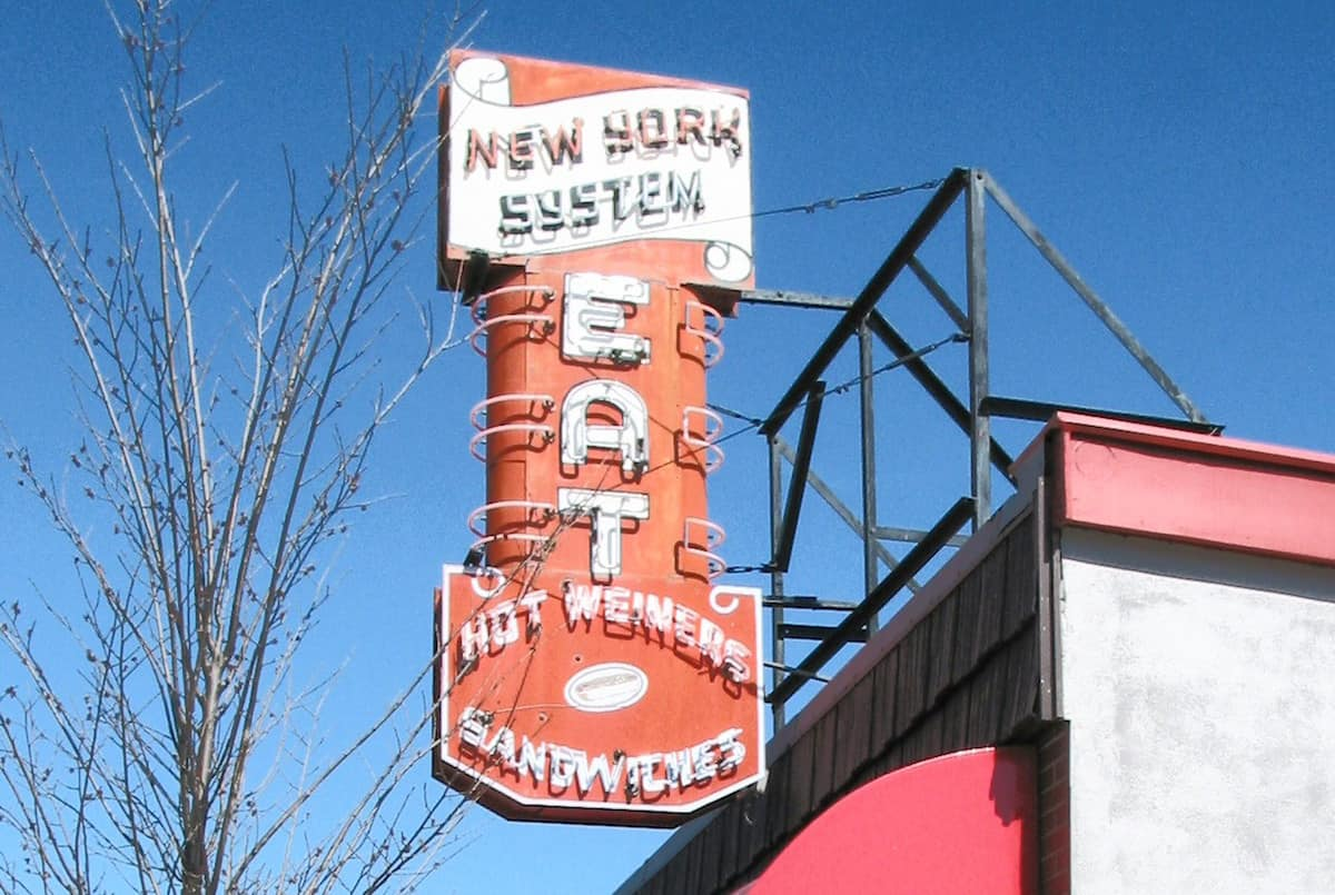 Olneyville New York System Restaurant - Providence RI. By Alcinoe (Own work) [Public domain], via Wikimedia Commons