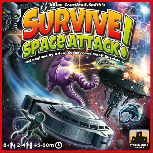 Survive: Space Attack! available for play at Elm City Games | Photo courtesy boardgamegeek.com