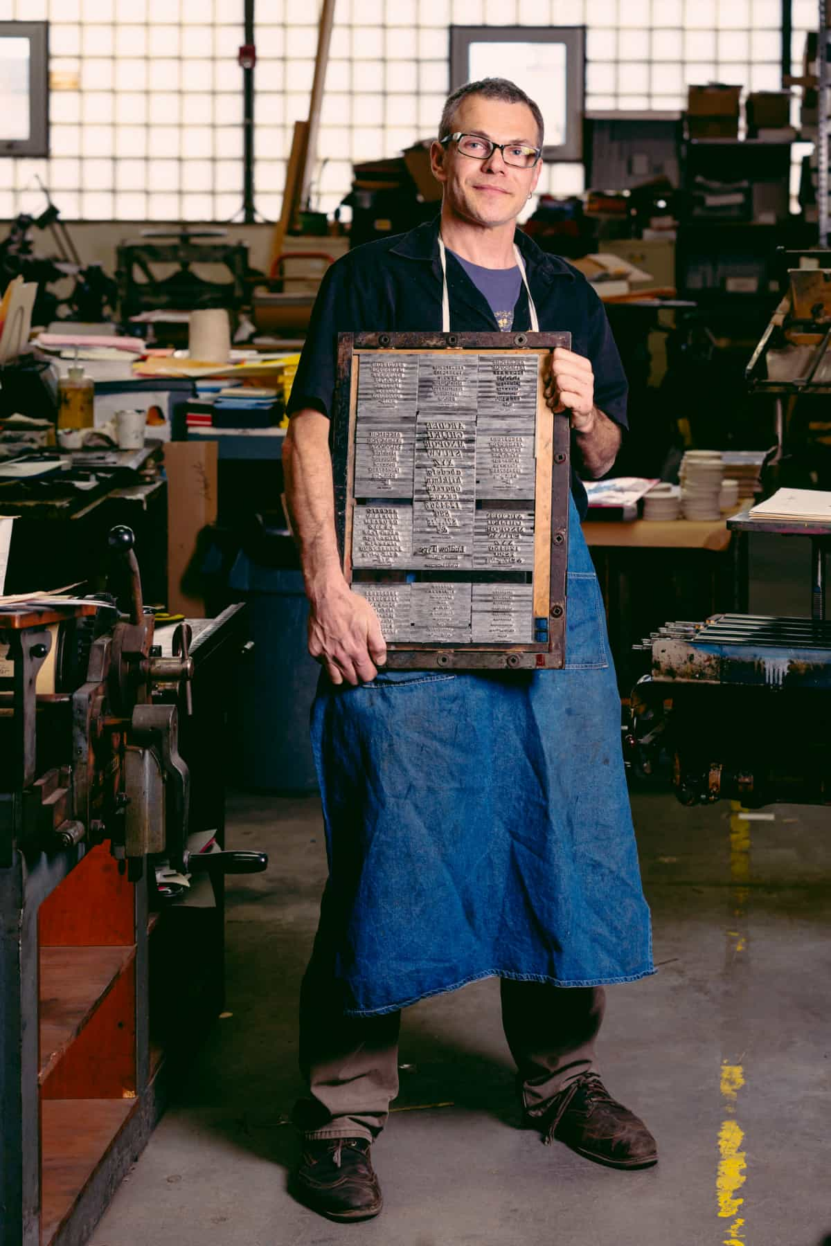 Dan Wood, Founder of DWRI Letterpress
