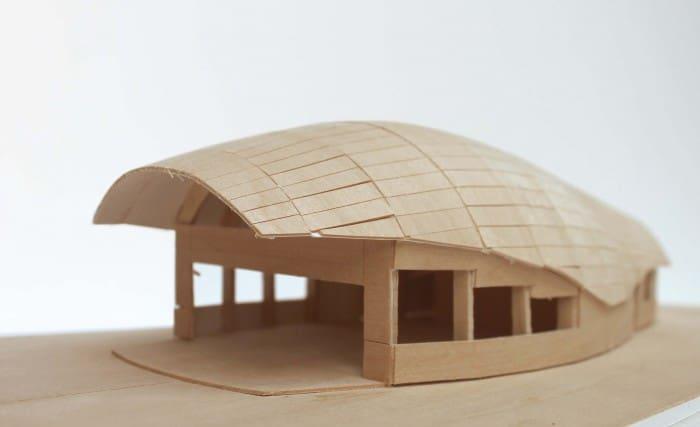 Porches Model by Tim Olson | Photo courtesy Olson's website