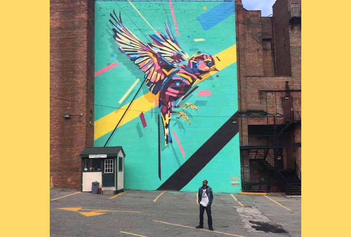 Che Anderson | Arlin's POW! WOW! Mural