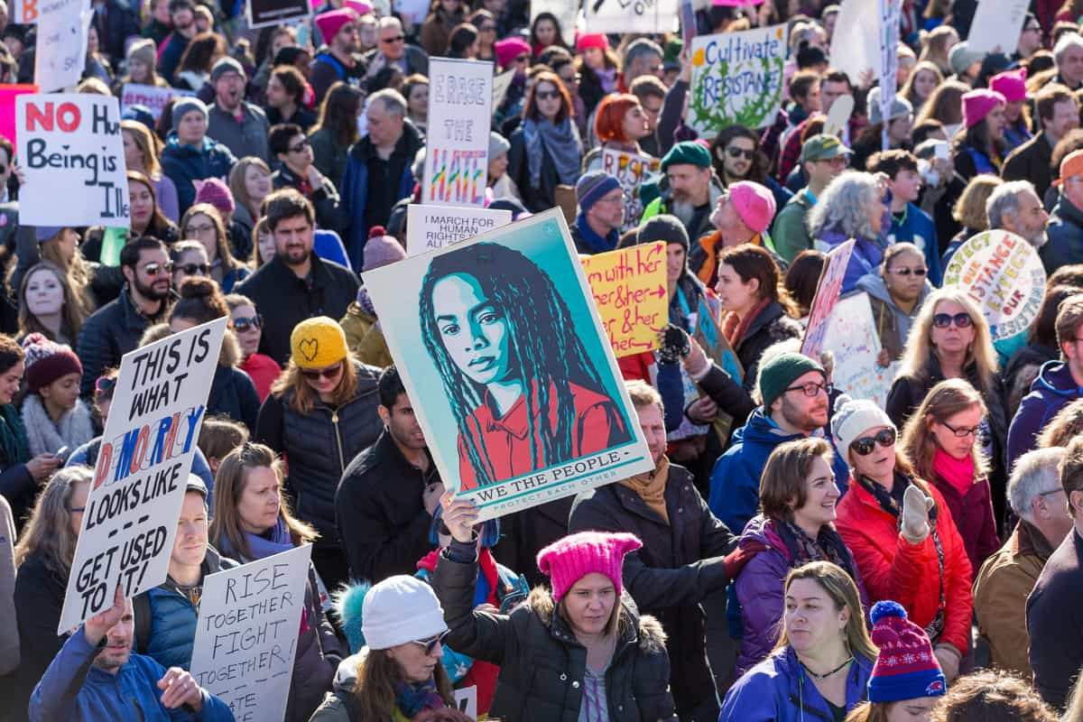 Women's March for America 2017, Boston | Photograph by Henry Amistadi