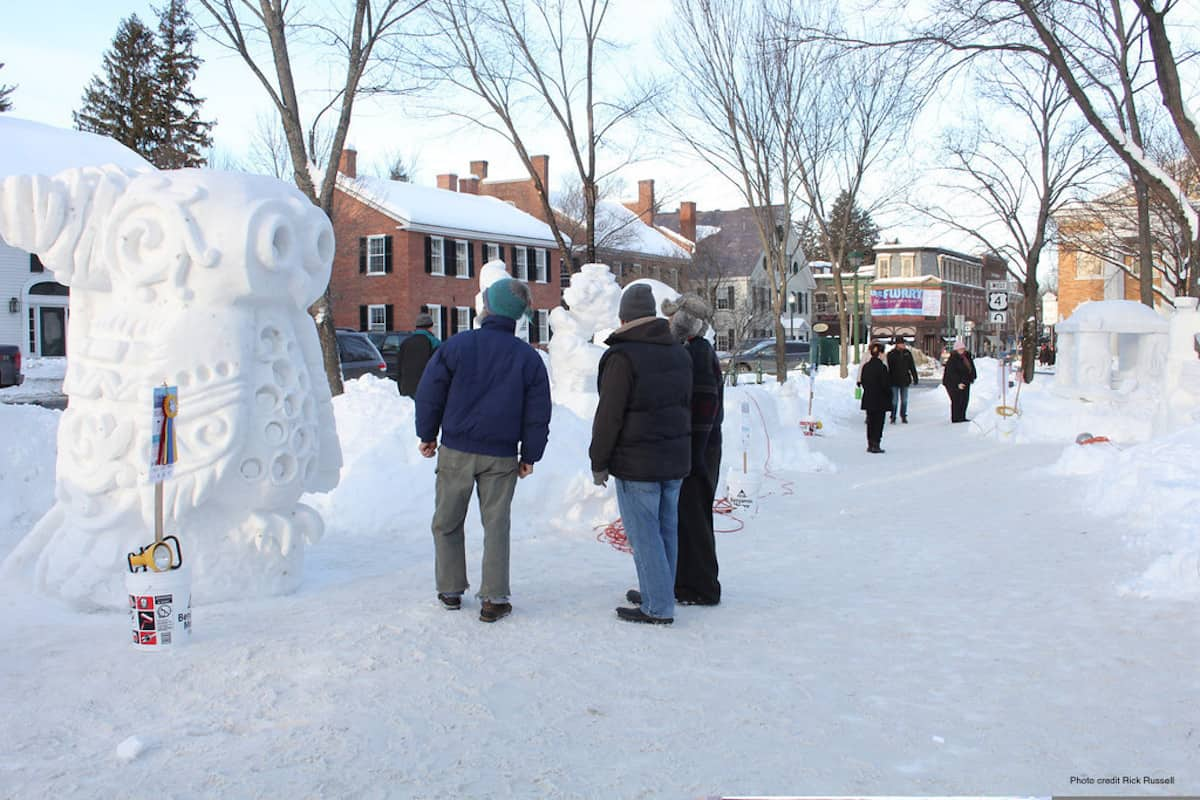 VT Snow Sculpture
