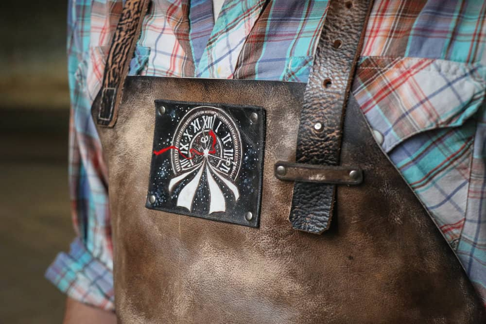 Custom Apron by LK Leather