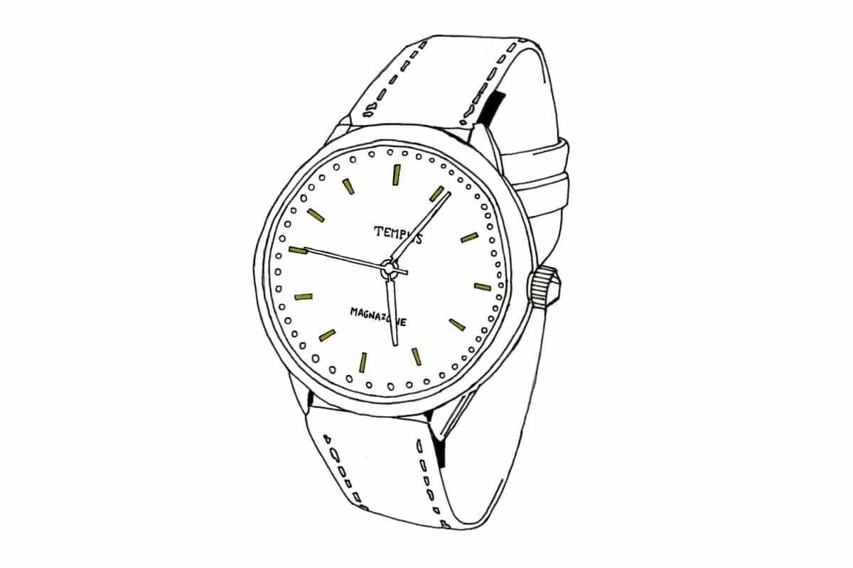 Analogue watch is a retronym.