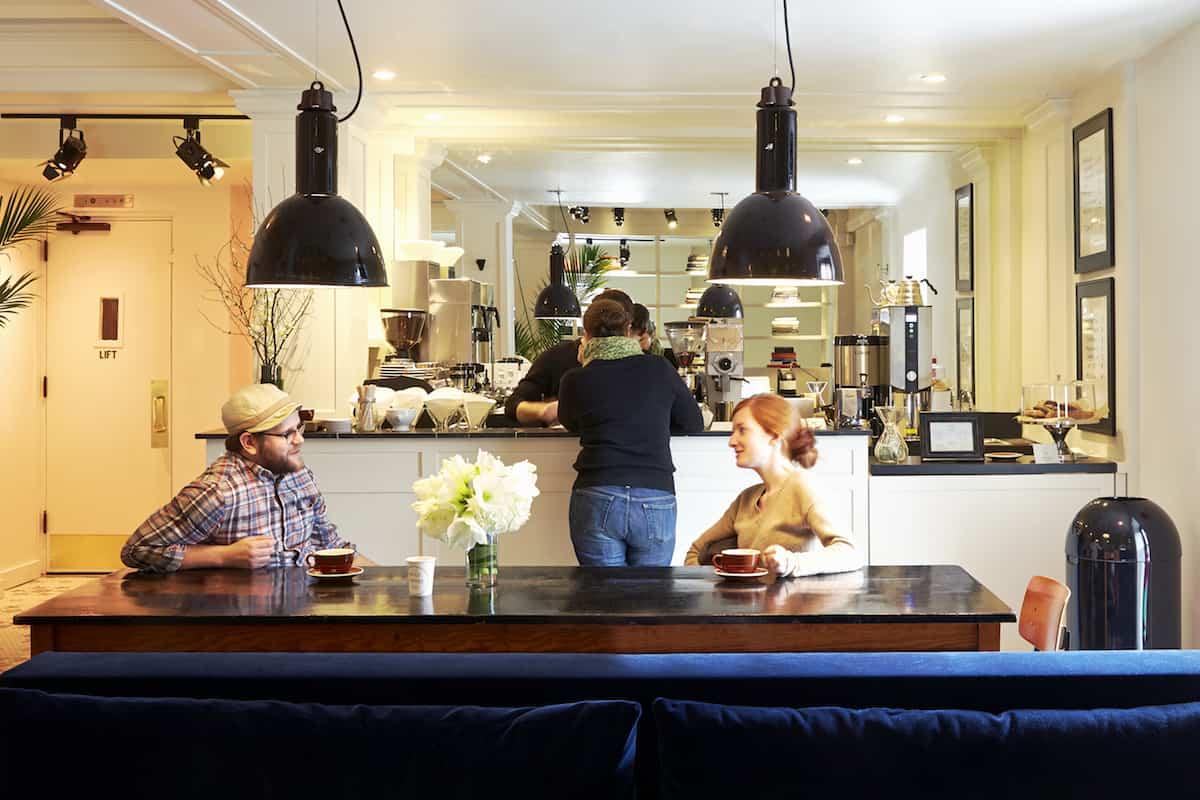 Bolt Coffee bar at The Dean Hotel