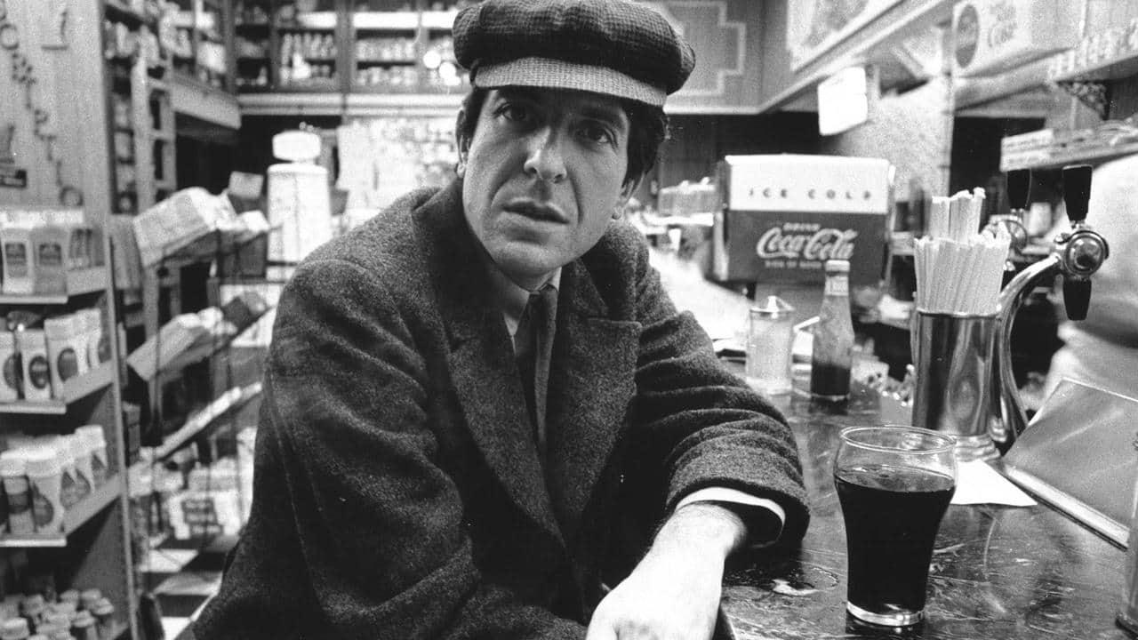 Still from Ladies & Gentlemen, Mr. Leonard Cohen, Dirs. Donald Brittain & Don Owen, 1965 | Presented by VT PBS and RETN