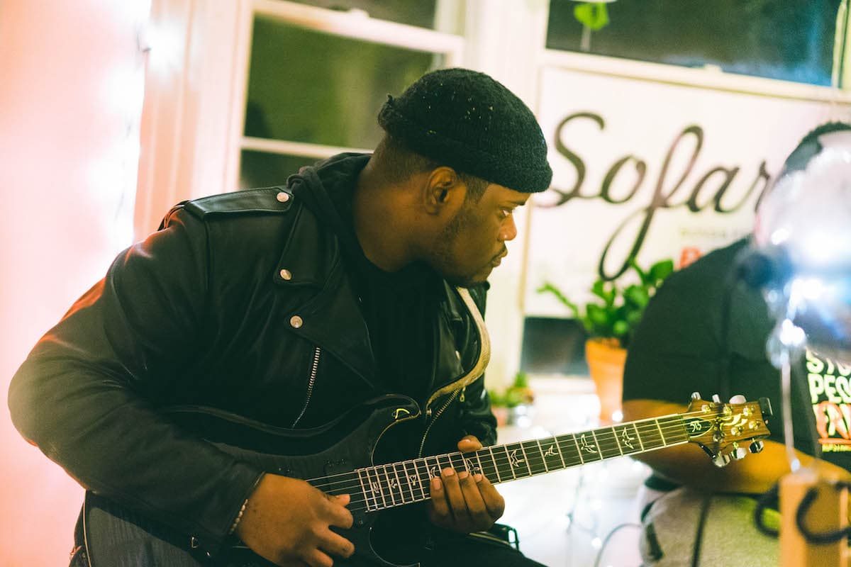 Aria Lanelle, Sofar Sounds, live music, Myles Tan photography