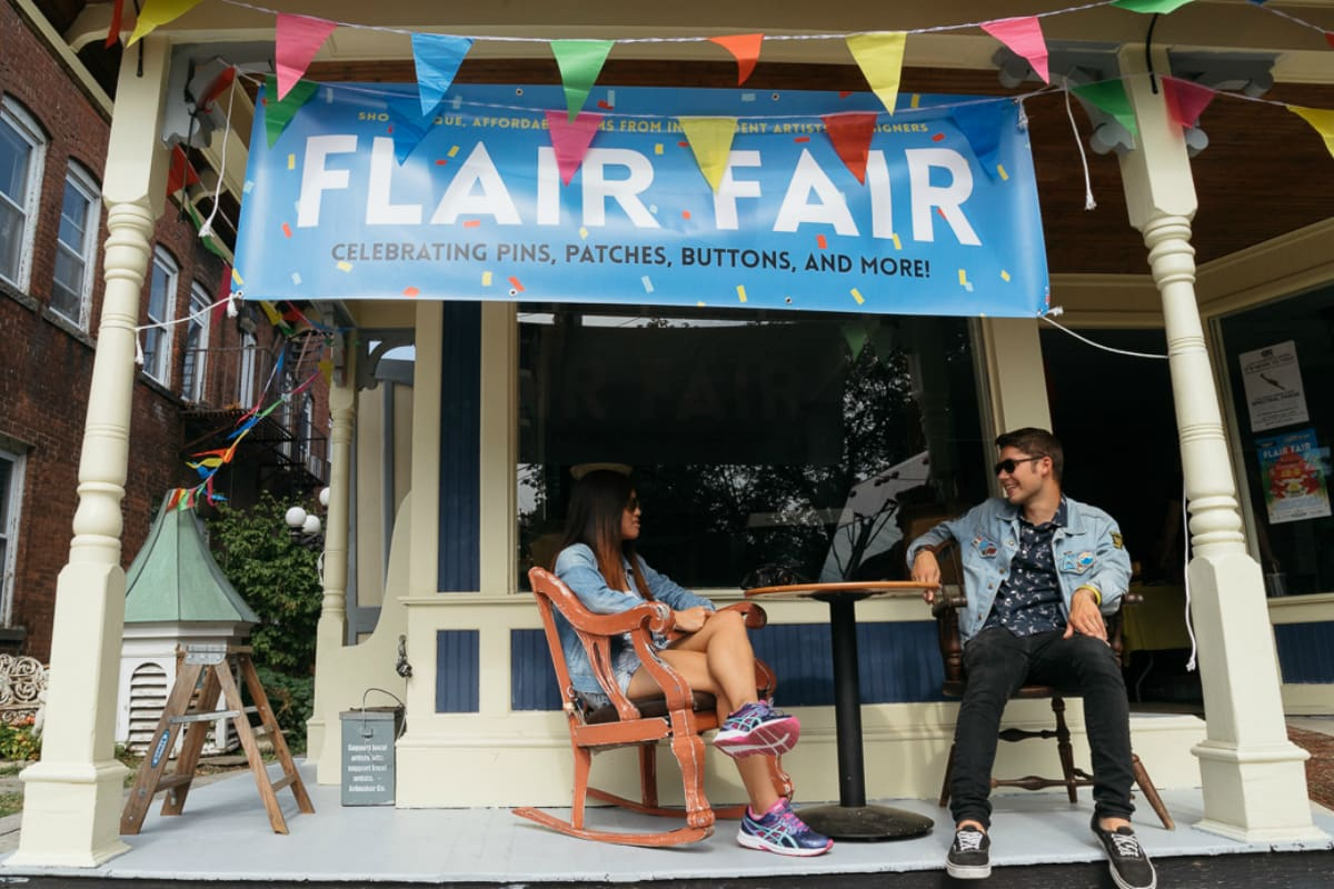 Flair Fair, New Haven, Connecticut, photo by Alex Esposito