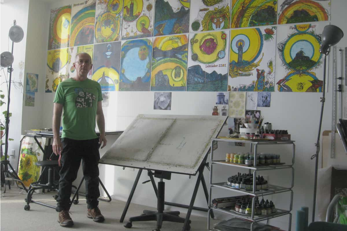 Madore in his studio | Photo courtesy