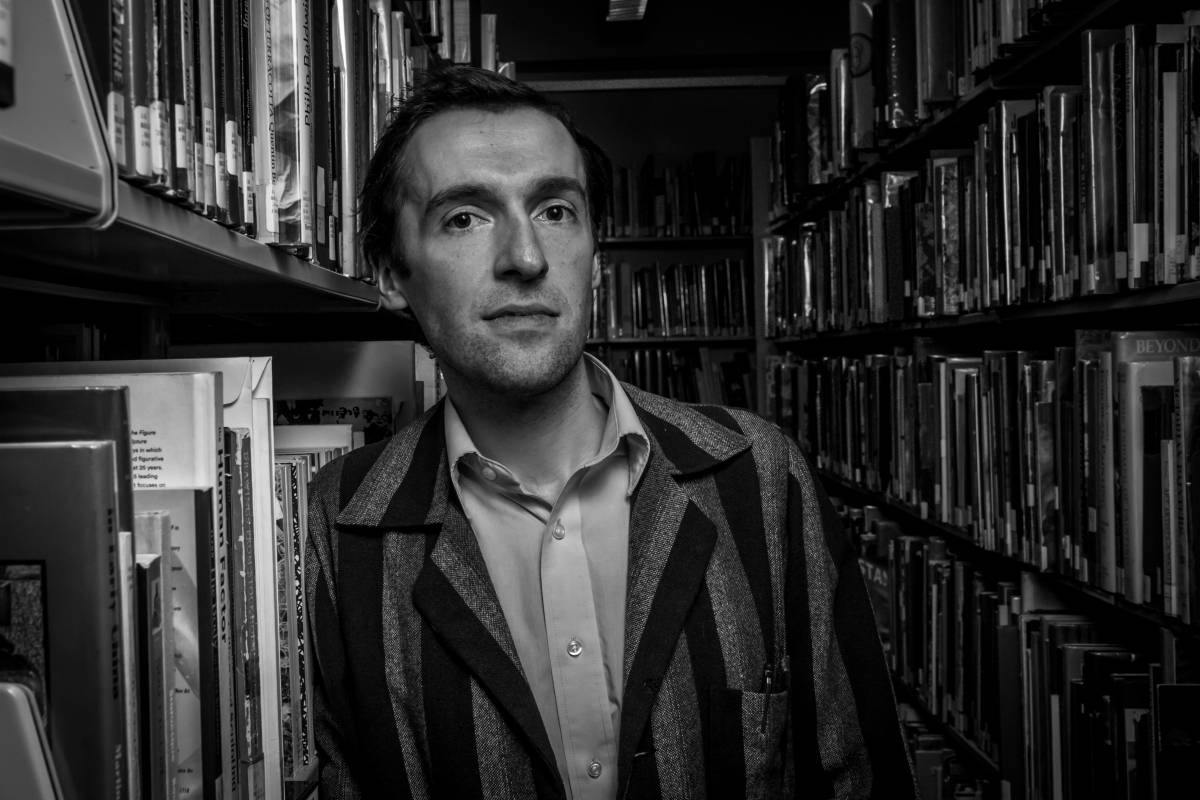 James Falzone, Providence Research Ensemble | Photo by Peter Gumaskas