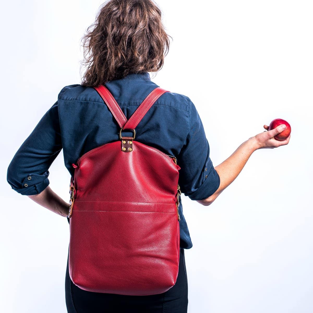 Jasmin Clayton, Kurier handbags, Portland Maine