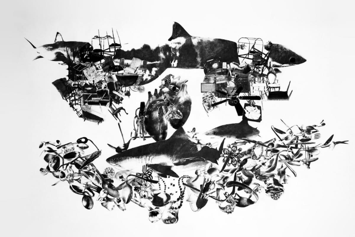 Stacy Howe, Portland Maine artist, Fuselage