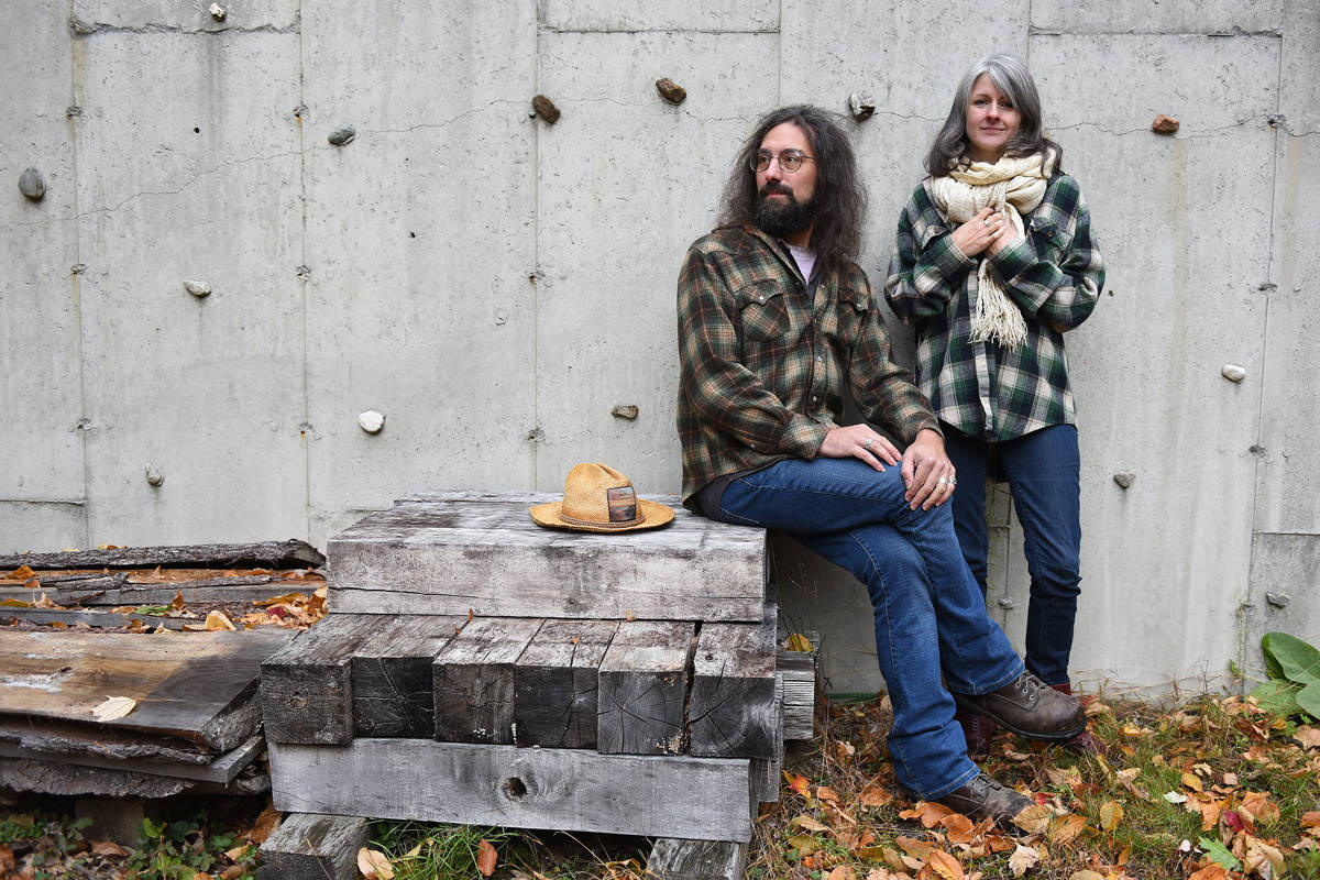 MV & EE, Photo by Paul Specht, Vermont musicians