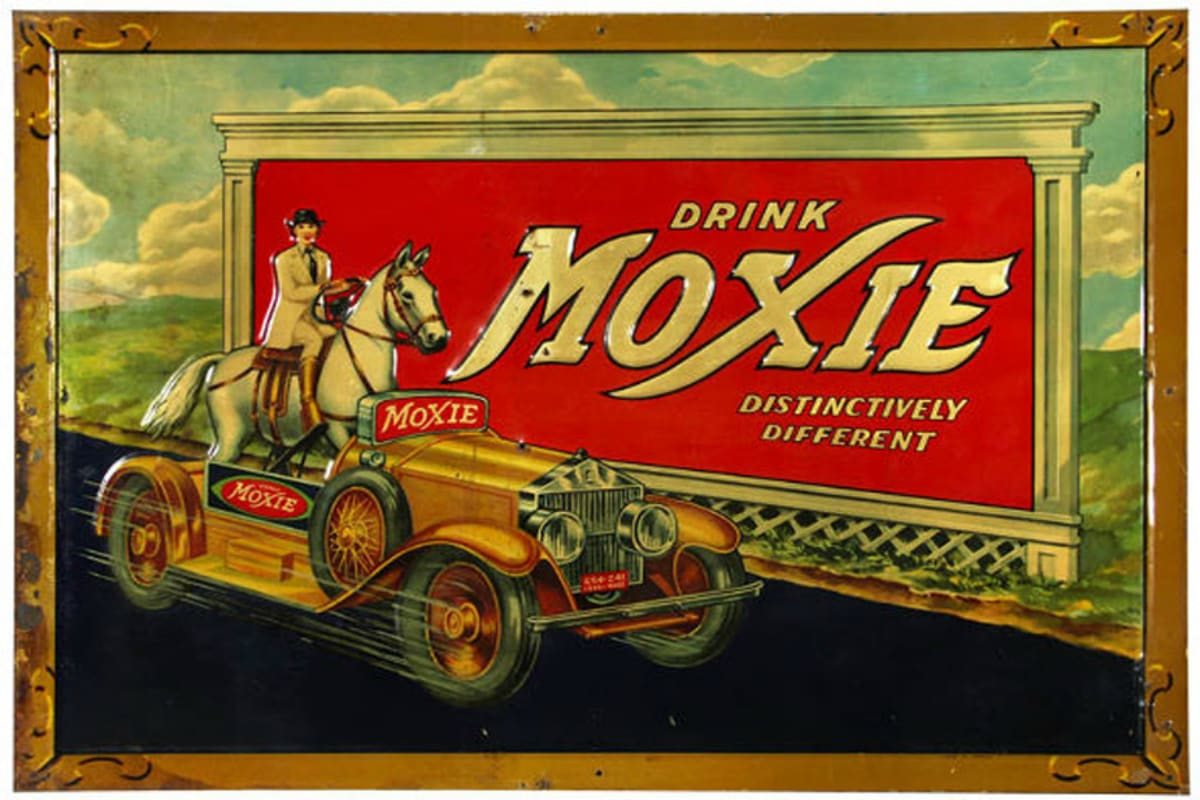 Moxie, Distinctively Different, soda, Coca-Cola