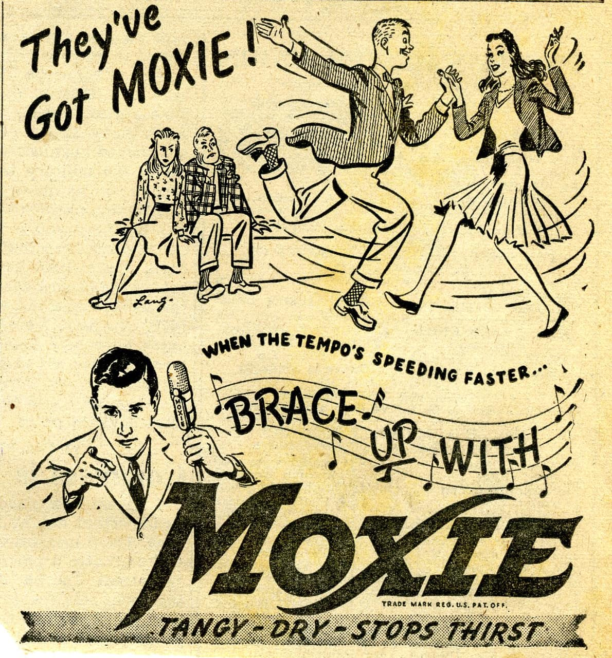 Moxie, Distinctively Different, Coca-Cola