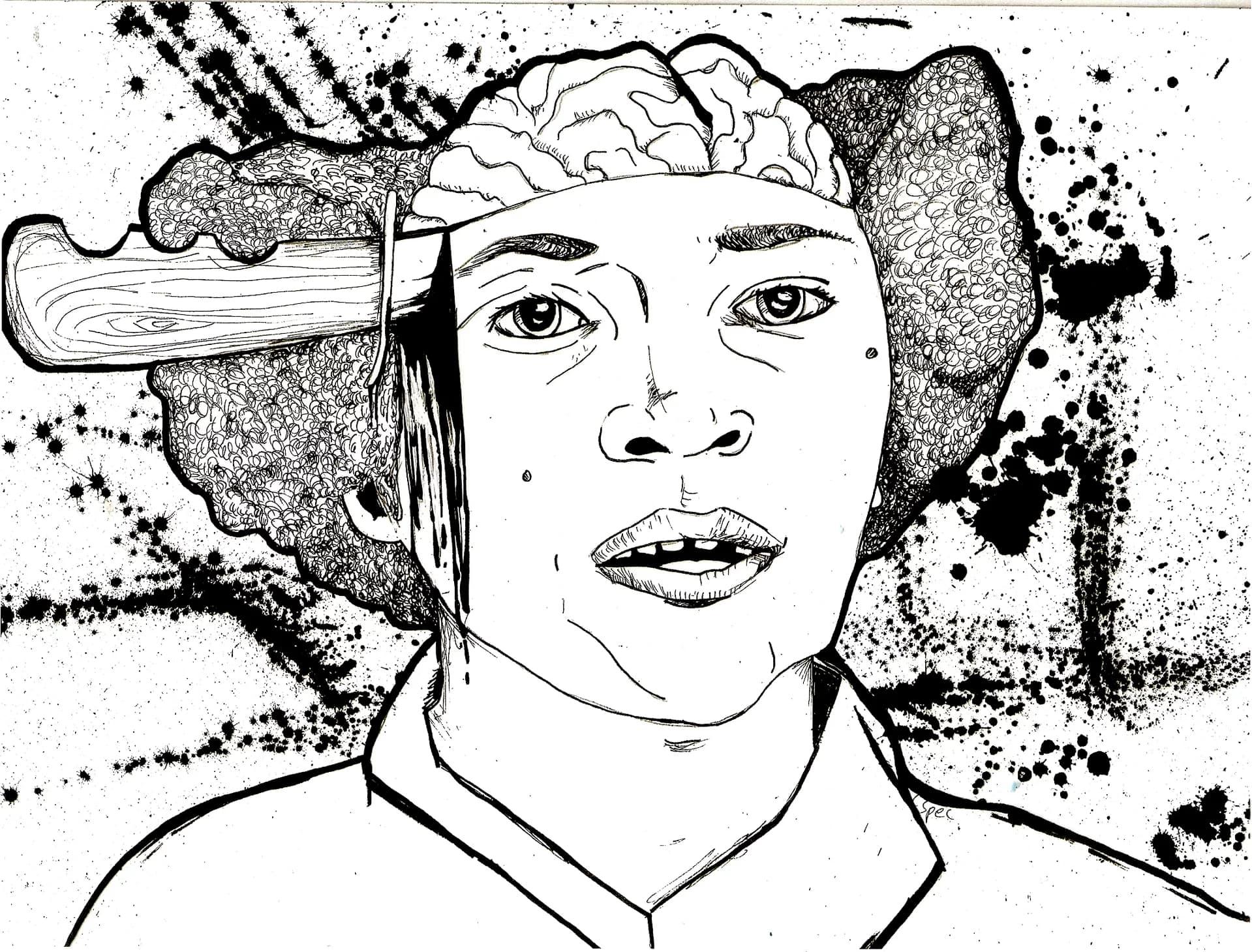 Wanda Jean Allen, These Women Are Dead series | Photo courtesy the artist's website