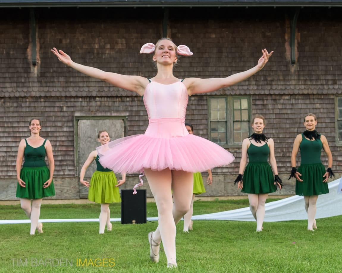 Farm to Ballet, Vermont, Tim Barden photo