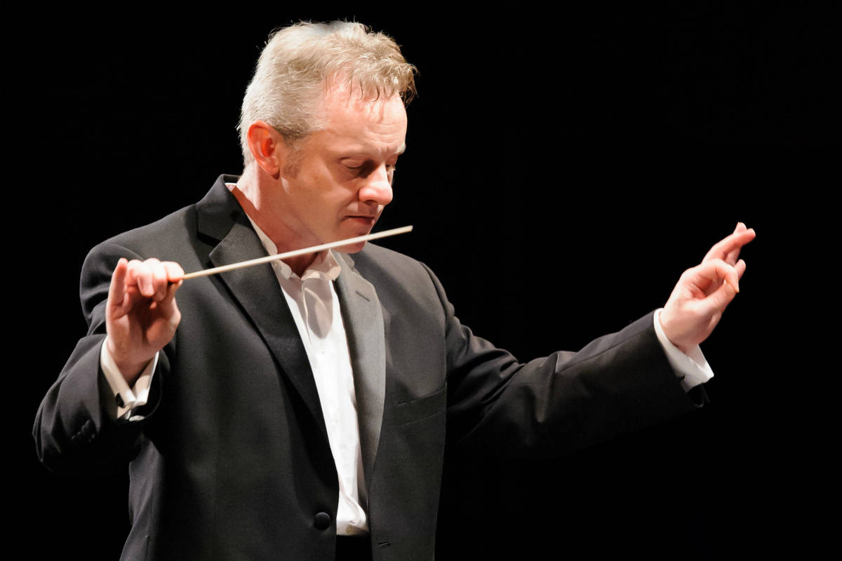 John Page, photo by Virgil Mehalek, Portsmouth Symphony Orchestra