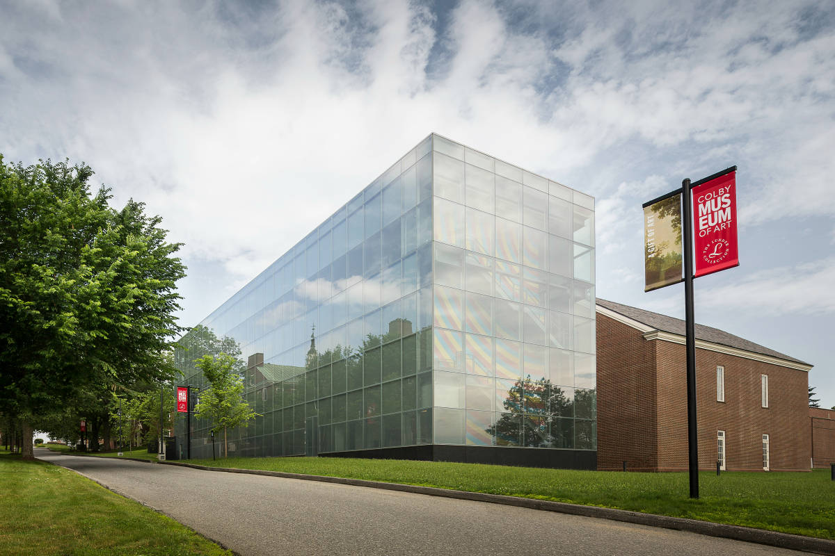 Sharon Corwin, Alfond-Lunder Family Pavilion, Colby College Museum of Art