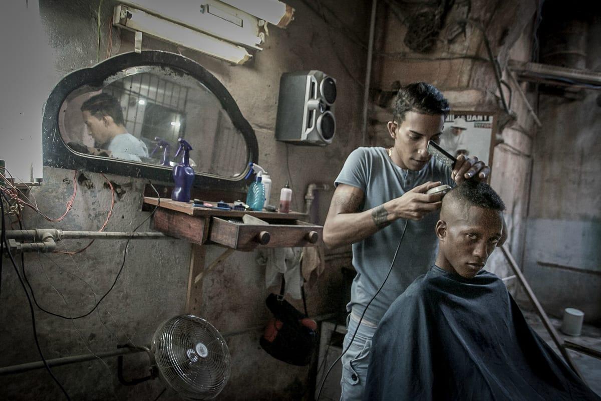 HABITAT/ion, Susan Cannarella, Barbershop