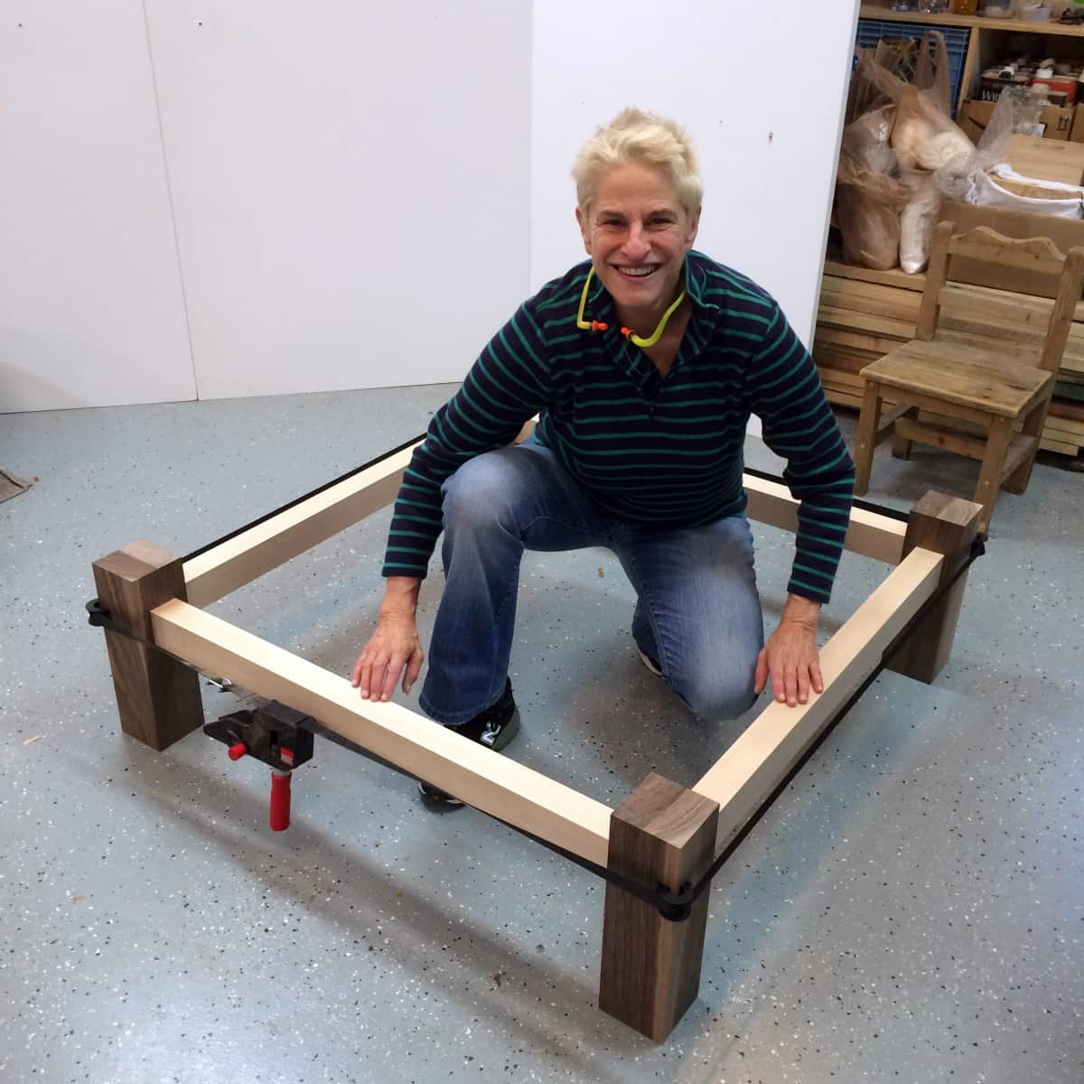 Libby Schrum, Maine furnituremaker, STUDIOcation