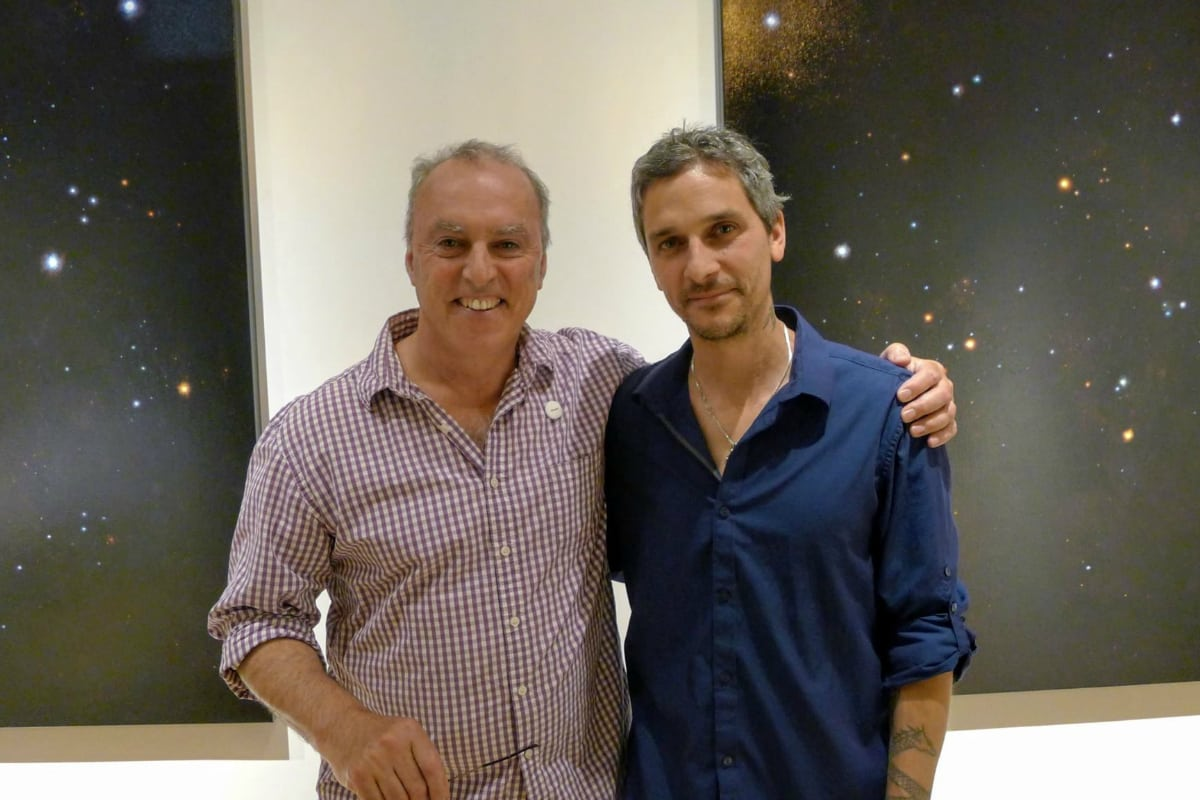 EBK Gallery owner Eric SSS with Jason Werner, Starfield series