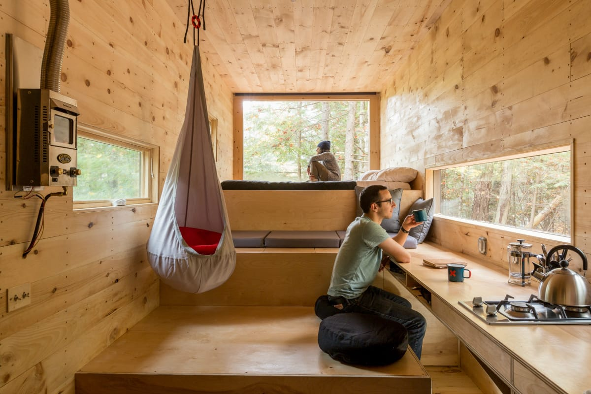 Getaway tiny houses the anti vacation solution take for Clara house