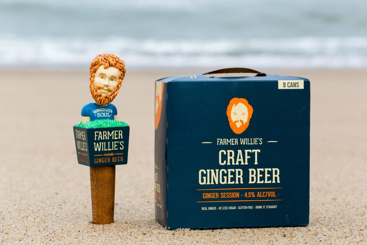 Farmer Willie's Ginger Beer, Rhode Island craft beer