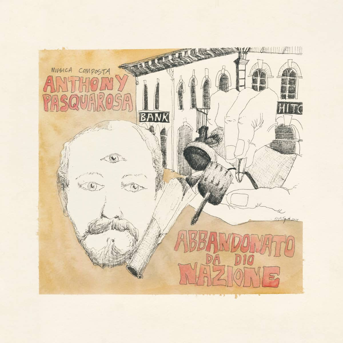 Anthony Pasquarosa, spaghetti western music