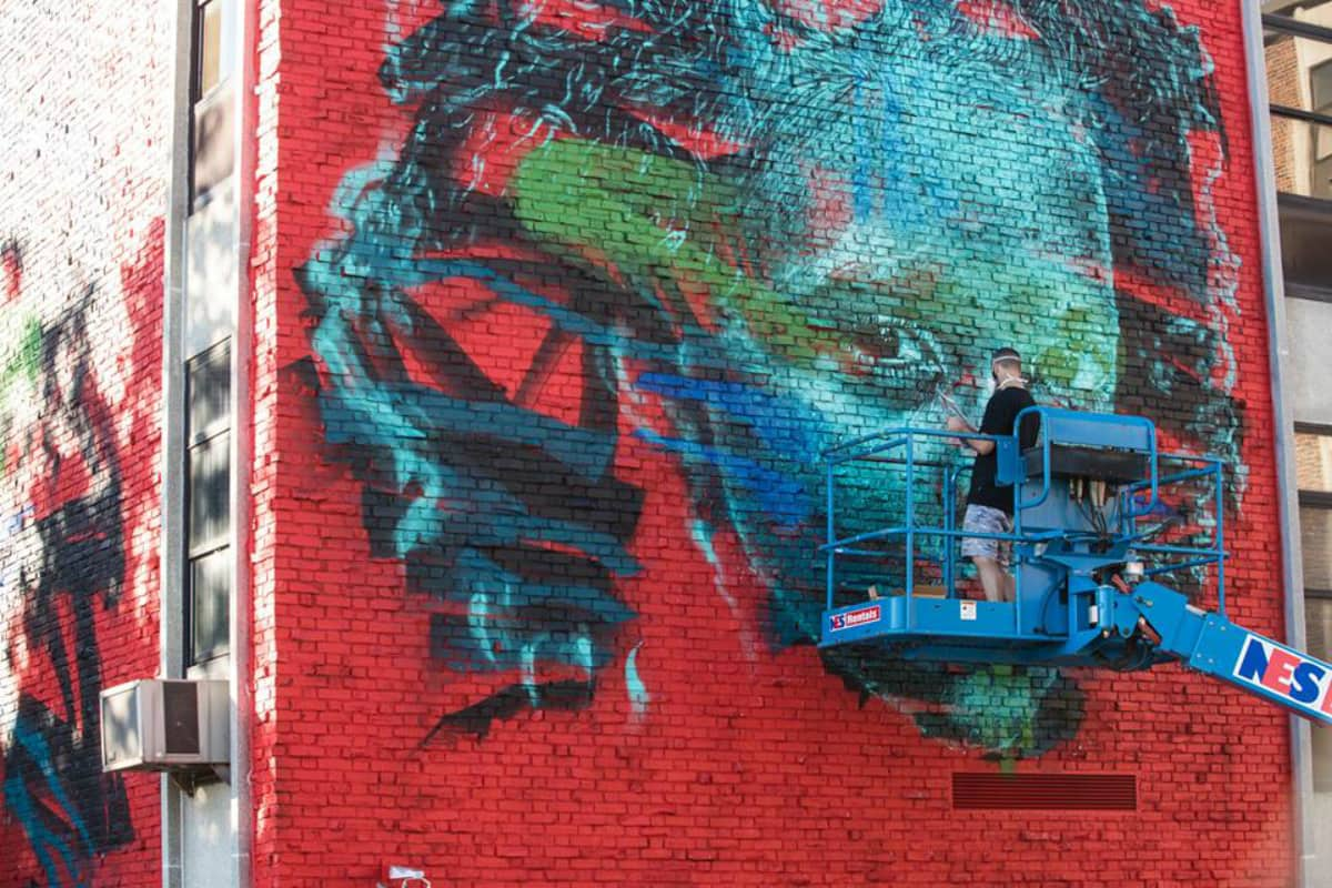 Pow! Wow! Worcester Brings Murals and More