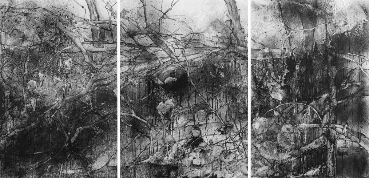 Broken Landscape, Margery Thomas-Mueller