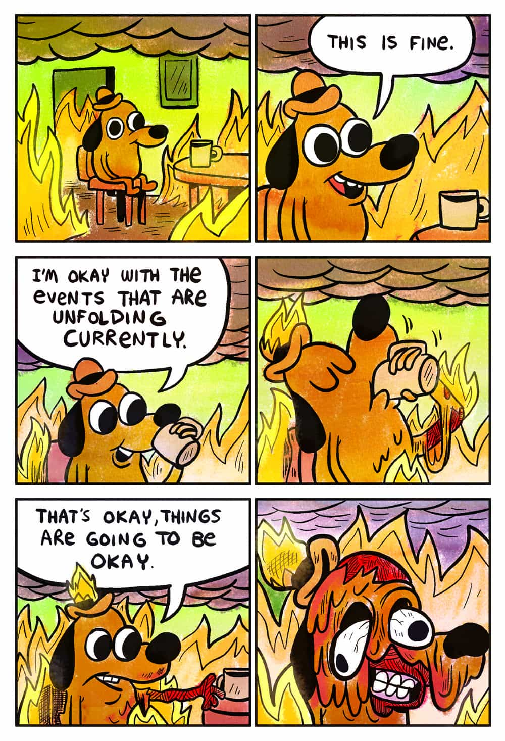 This is Fine by KC Green, TopatoCo
