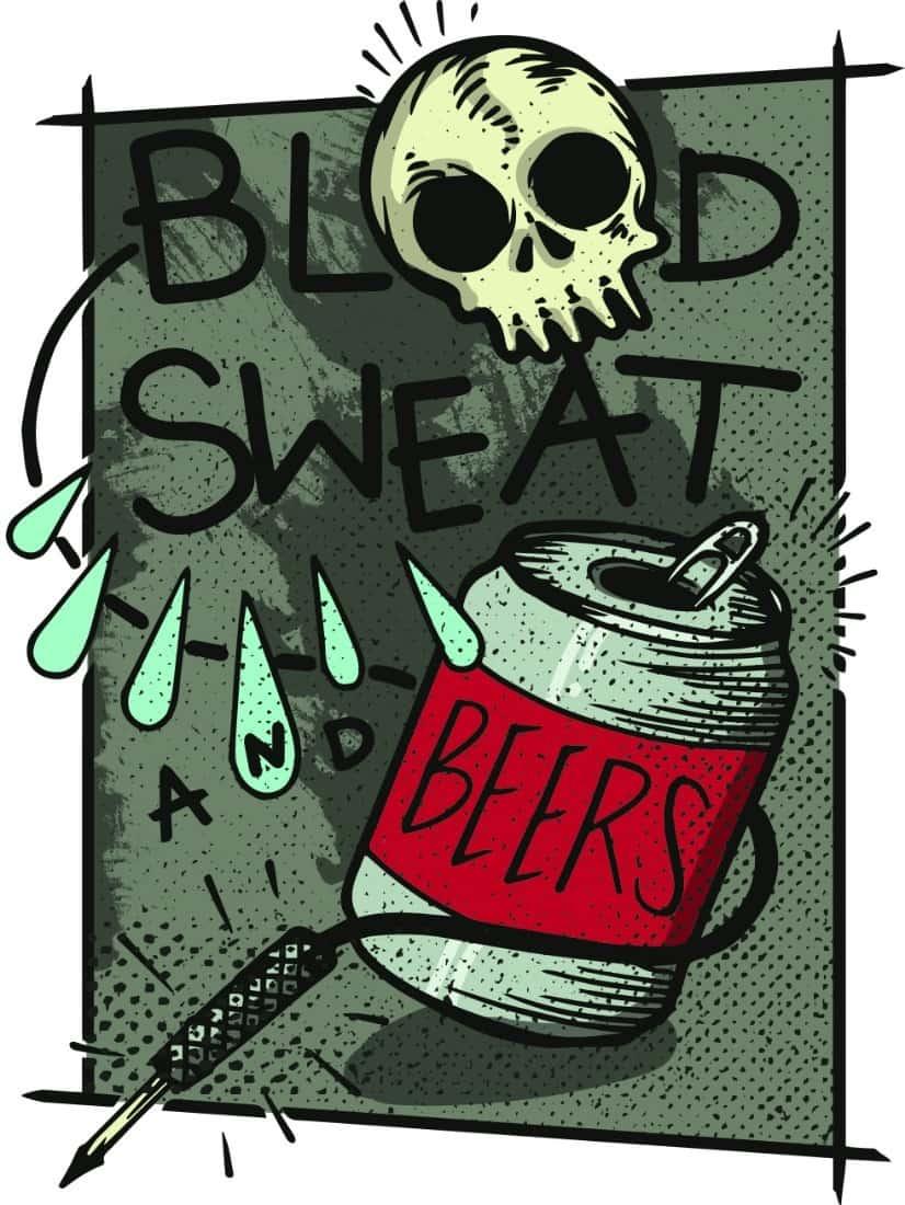 Dean McKeever. Metal music.BloodSweatBeers