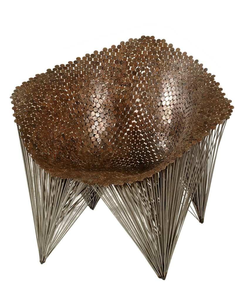 Penny Chair, 1997, photo by Jamie Diamond