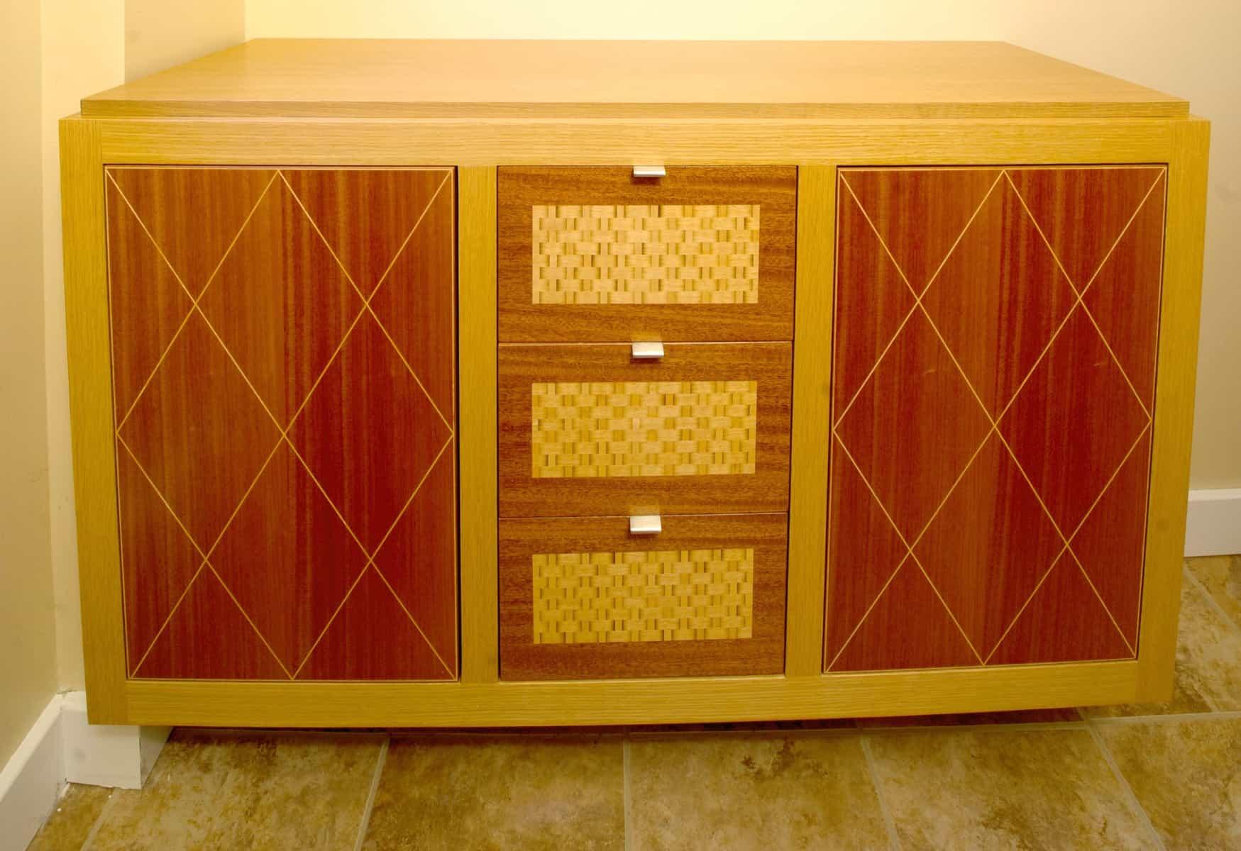 Steve Ryder, furniture maker, cabinet and mirror-2 (1)